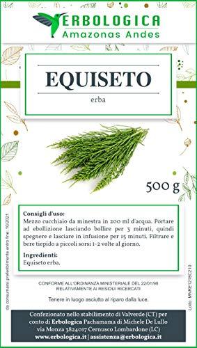 Equiseto tisana 500 grammi   Diuretico naturale   Ottima tisana depurativa   Infusi e tisane a base...