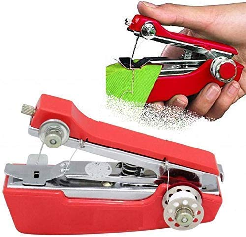 DIPStapler Shape Portable Mini Lightweight Cordless Hand-Operated Manual Stapler Size Tailoring Sewing Stitch | Tailoring Machine for Garment, Cloth Home, Household