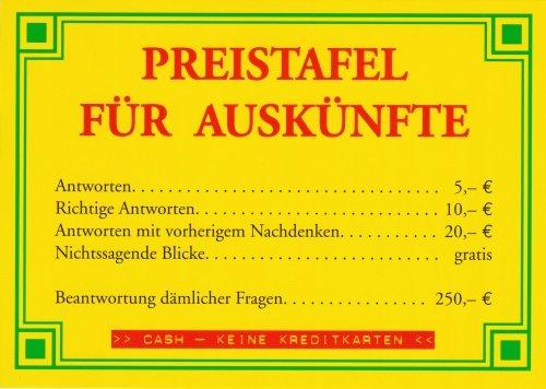3er-Packung: Postkarte Sprüche & Humor