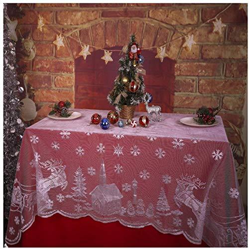 Mantel Elegante Navidad Marca Zonfer