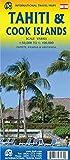 Tahiti & Cook Islands Travel Map 1:100K