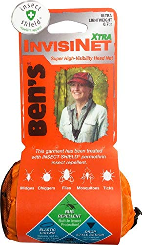 Ben's InvisiNet Xtra with Insect Shield Repellent