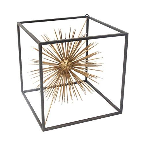 Sagebrook Home Metal Starburst Table Sculpture, Gold,...