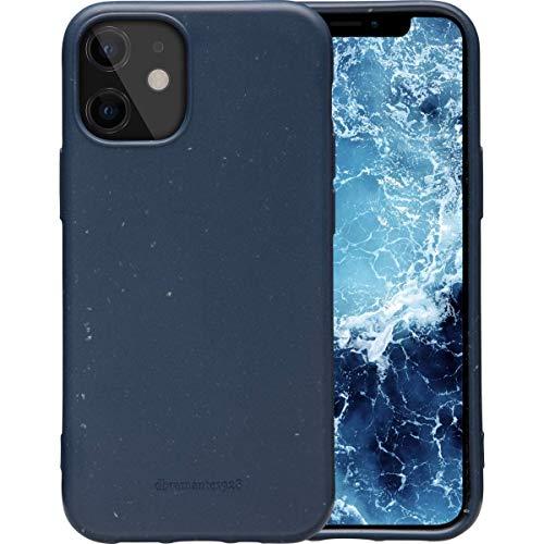 dbramante1928 Grenen, Schutzhülle für iPhone 12 mini, aus Bio Kunststoff, blau