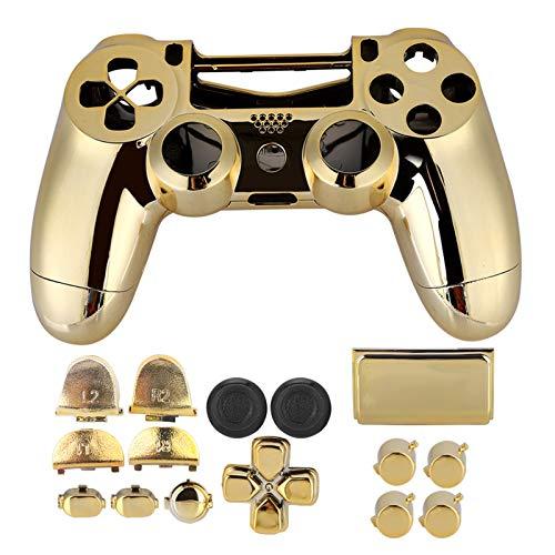 Bewinner Gamepad Handle Shell Set per PS4 Game Controller, Custodia in plastica Shell Cover Controller Custodia Rigida per PS4 Slim con buona Elasticità e antiriflesso