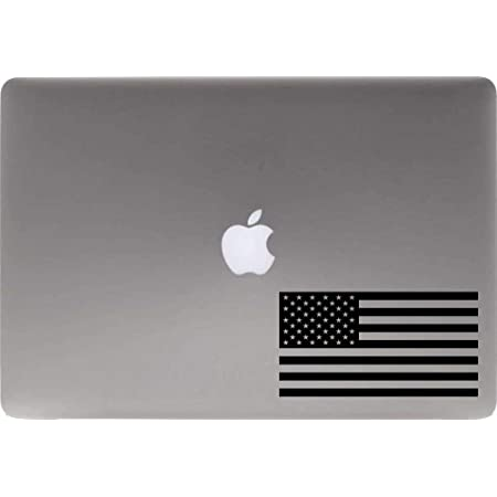 Car Laptop Macbook Window Stickers Horse American Flag Sticker Vinyl Decal