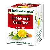 Bad Heilbrunner Leber- und Galle Tee im Filterbeutel, 12er Pack (12 x 8 Filterbeutel)