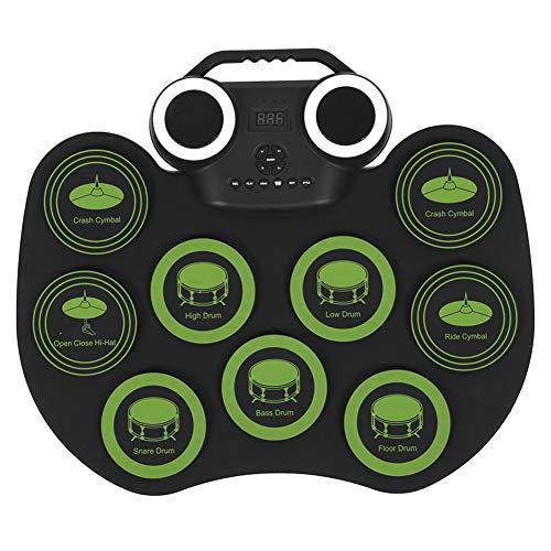 Pbzydu 【𝐖𝐞𝐢𝐡𝐧𝐚𝐜𝐡𝐭𝐬𝐠𝐞𝐬𝐜𝐡𝐞𝐧𝐤】 Trommel, musikalisches elektronisches Trommel-elektrisches Trommelset, für Telefon-Laptop