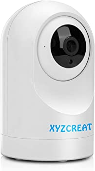 XYZCreat 1080p HD Wireless IP Camera with AI Motion Detection