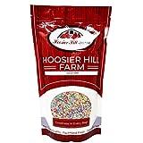 Hoosier Hill Farm Fideos de colores 100% naturales Multicolores (1 kg) Hebras de azúcar Sprinkles