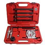 CCLIFE 9 piezas extractor de cojinetes de rodamiento de bolas, extractor de rueda de coche, 75-105 mm