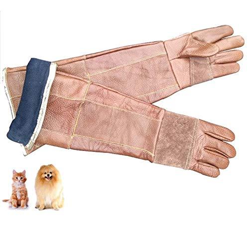 XIUMI Dieren Handling Bescherming Handschoenen Verdikte Anti-Bite/Scratch Bescherming Gauntlet Voor Hond Kat Lizard Snake