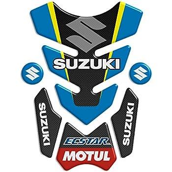 Tankpad Protection de r/éservoir pour moto GSXR 1000 750 600 Racing Bleu Tuning