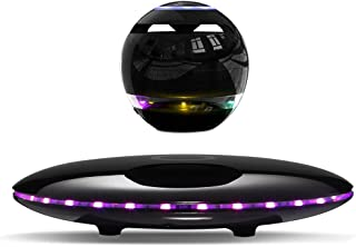 Infinity Orb Magnetic Levitating Speaker Bluetooth 4.0 LED Flash Wireless Floating Speakers with Microphone and Touch Butt...