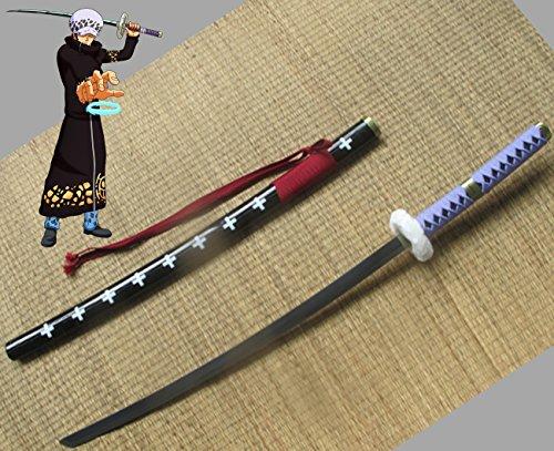 ZS Katana Trafalgar Law Nodaichi 104 cm Originalfarben Einzigartiges Schwert Law, Zoro One Piece