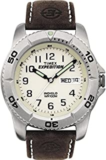 Timex Men's T46681 Year-Round Analog Quartz Brown Watch