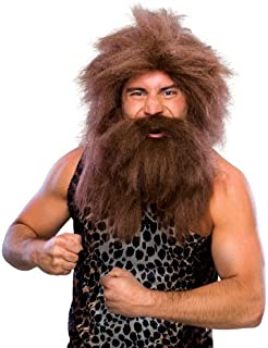 Rubie's Costume Characters Caveman Beard And Set Wig
