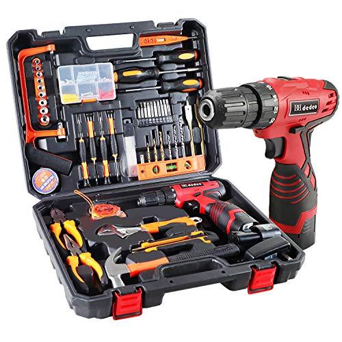 Dedeo Cordless Hammer Drill Tool...