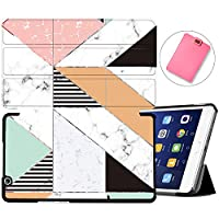 MAITTAO Stand Cover For Huawei MediaPad M3 8.4 Case BTV-W09/BTV-DL09, Slim Leather Folio Smart-Shell with Auto Wake/Sleep for MediaPad M3 8.4 inch 2016 Release Android Tablet, Marble 22