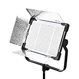 YONGNUO YN9000 LED Video Light for Studio YouTube Photography Lighting 900PCS LED Beads + Softbox CRI 95+ Mobile Phone APP Remote Control with U Bracket Bi-Color 3200K-5600K