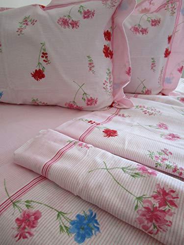 Komplett Bett Doppelbett Flanell Bettlaken 240x 280cm.Bettlaken mit angoli180X 200+ 25cm. Kissenbezüge 252x 82cm.