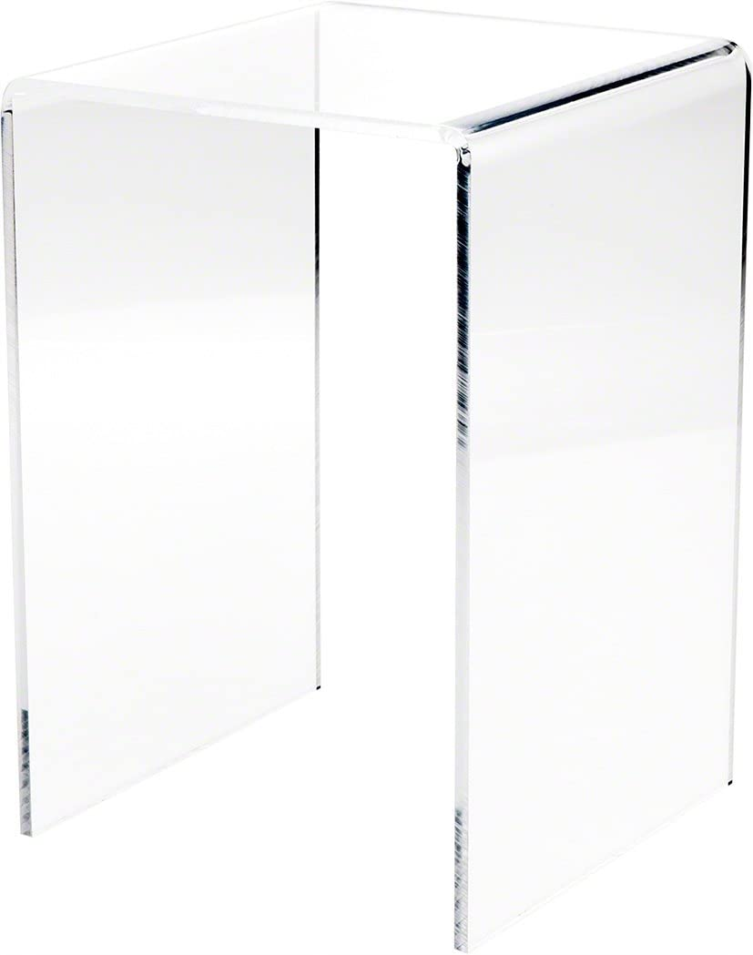 Plymor Clear Acrylic Vertical Fashionable Square Display H Finally resale start 7