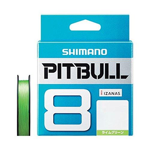 シマノ(SHIMANO) PEライン ピットブル 8本編み 150m 0.8号 ライムグリーン 18.3lb PL-M58R 釣り糸