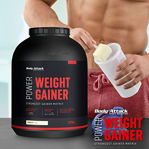 Body Attack Power Weight Gainer Chocolate, 1er Pack (1 x 1.5 kg) - 6