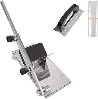 手動ミートスライサー 肉スライサー ステンレス鋼 - 家庭用に調整可能な肉切断機 調理器具