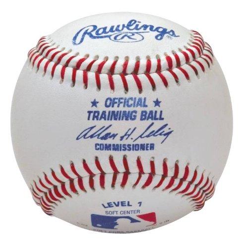 Rawlings Balls Baseballs Baseballbälle, Weiß, Einheitsgröße