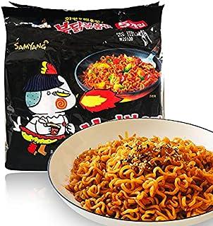 超辛い即席めん、韓国は三養七面鳥麺辛い鶏麺、極度辛い即席めん、ラーメン、乾麺を輸入しました (10包)