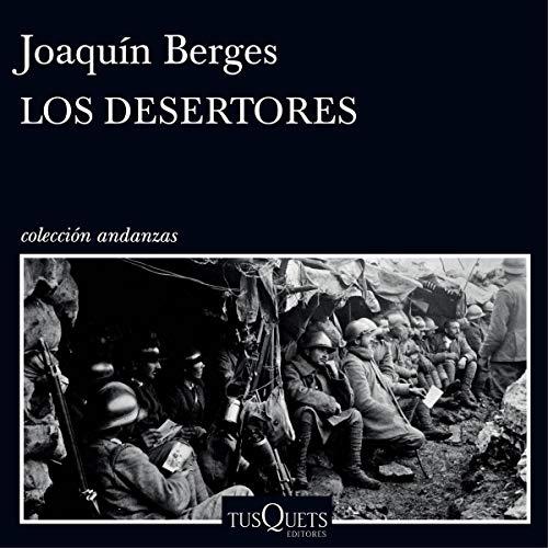 Diseño de la portada del título Los desertores