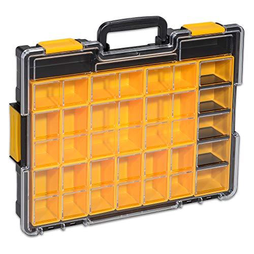 Allit EuroPlus Pro K44/19 Profi Kleinteile Box Kasten Transparent Deckel 454222