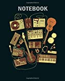 Notebook: music producer and musician - 50 sheets, 100 pages - 8 x 10 inches