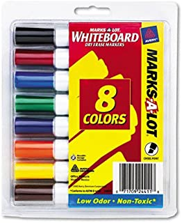 AVE24411 - Marks-a-lot Desk Style Dry Erase Markers
