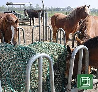 Diam 2M Alt 1,5M PORTOVERDE CVG511E70A Red para alimentaci/ón de caballo Cubre Bala Cilindro Nivel Basic