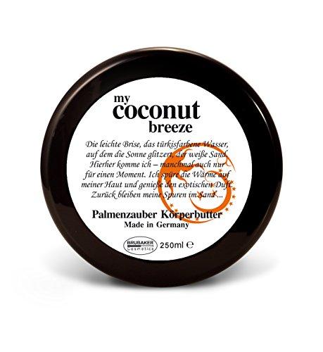 BRUBAKER Happiness - Beurre pour le corps hydratant & nourrissant - Noix de coco - 250 ml