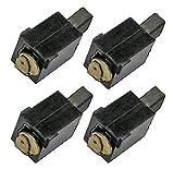 Black and Decker DS321/BR318 Belt Sander 4 Pack Brush Assembly # 588563-00-4PK