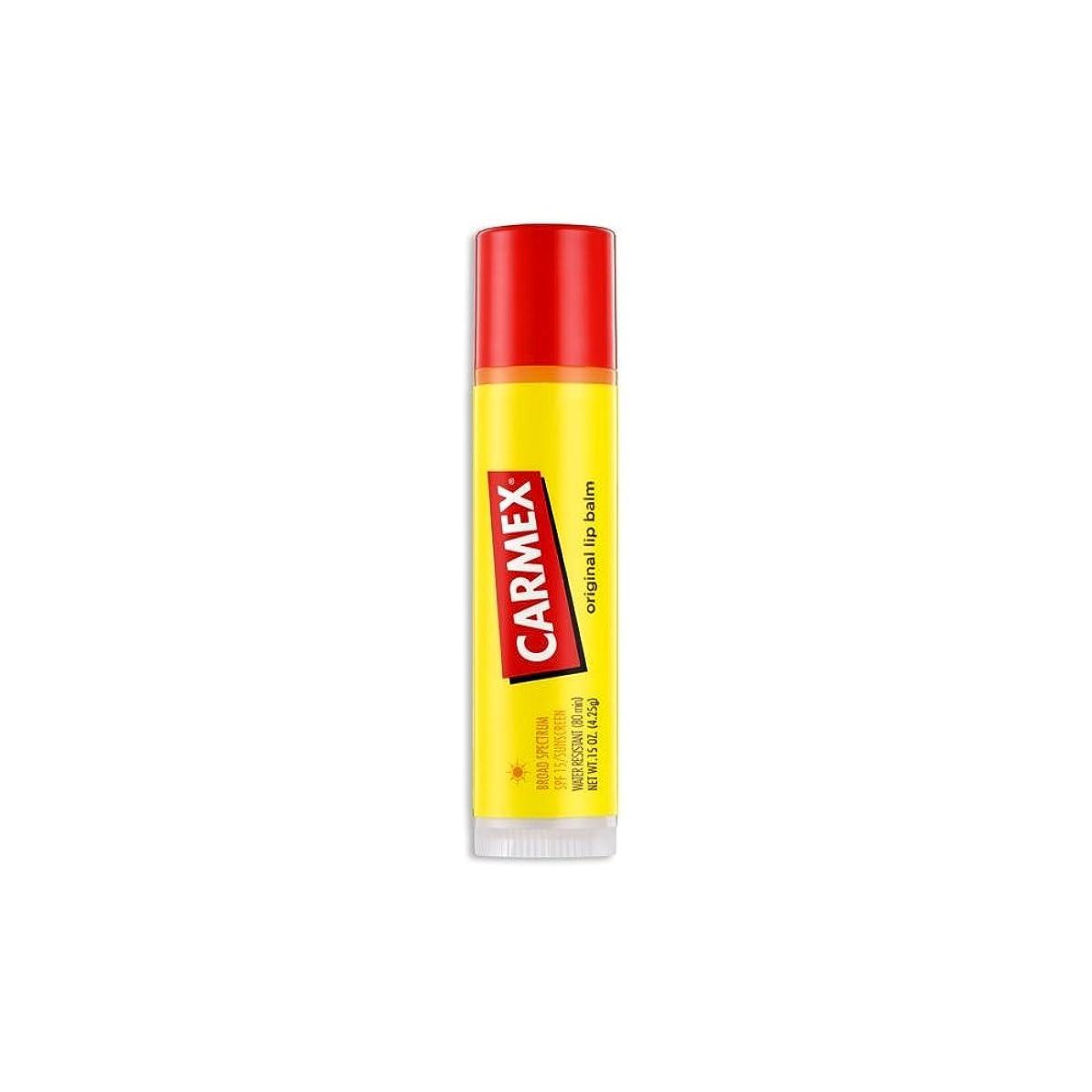 スイス人控えめなかき混ぜる(6 Pack) CARMEX Original Flavor Sticks Original (並行輸入品)