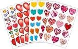 Avery Zweckform 58224 Liebe Sticker Set Herzen (Vorteils-Pack) 188 Aufkleber