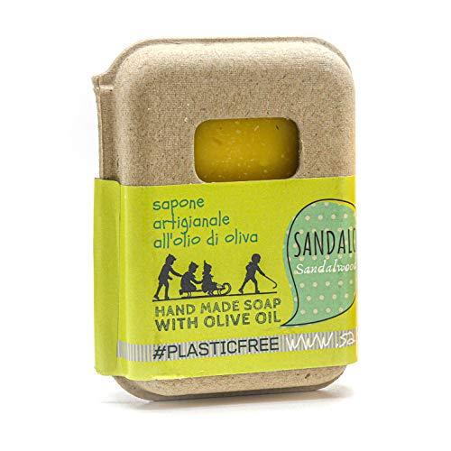 Saponetta Artigianale e 100% Naturale - Sapone per Viso, Mani, Corpo e Capelli - per l'Igiene di Tutto il...
