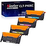 Sizzler Compatible CLT-P406C Cartuchos de tóner Reemplazo para Samsung 406S Toner para Samsung CLX-3300 CLX-3305 CLX-3305W CLX-3305FW CLX-3305FN CLP-360 CLP-365 CLP-365W SL-C410W C410FW C460FW
