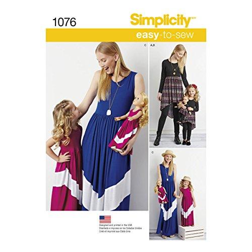 Simplicity 1076 Girl