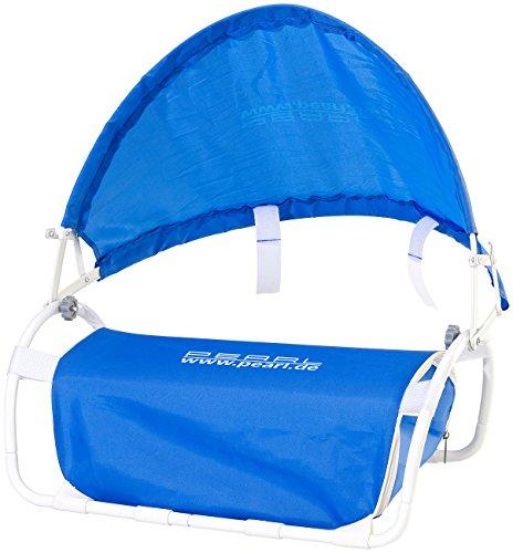 PEARL Strandkissen: Nacken-Kissen mit Sonnenschutz für Strand und Outdoor (Nackenkissen mit Sonnenschutz)