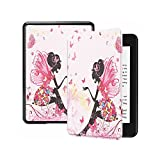 LWCOTTAGE Kindle Carcasas Y Fundas - Funda Inteligente para Amazon Kindle Case For Kindle Paperwhite 4/3/2 Cover For Kindle Oasis Cover For Kindle Voyage Butterfly Girl,Butterfly Girl,Voyage
