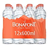 Bonafont, Agua Natural, 600Ml, 12 Pack