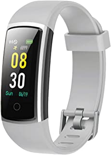 YAMAY Fitness Tracker with Blood Pressure Monitor Heart Rate Monitor,IP68 Waterproof Activity Tracker 14 Mode Smart Watch ...