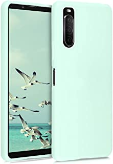kwmobile TPU Silicone Case Compatible with Sony Xperia 10 II - Soft Flexible Protective Phone Cover - Teal Matte Green 519...