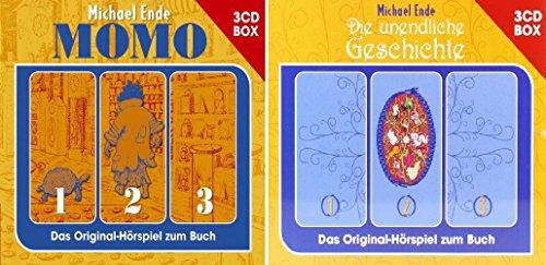 Die Unendliche Geschichte + Momo - Hörspiel Box im Set - Deutsche Originalware [ 6 CDs]