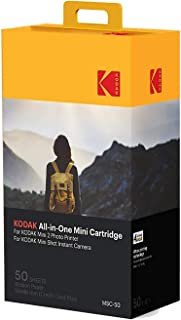 $34 » Kodak Mini 2 Photo Printer Cartridge MC All-in-One Paper and Color Ink Cartridge Refill - Compatible with Mini Shot Camera, Mini 2 Printer (Not Original Mini) 50 Pack (Packaging may vary)